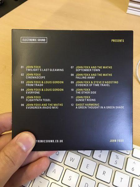 John Foxx | FREE John Foxx CD with Electronic Sound Magazine