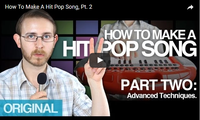 Bret Domino – How to make a hit pop song part 2..